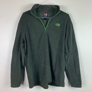 The North Face - Quarter Zip Fleece Sweater